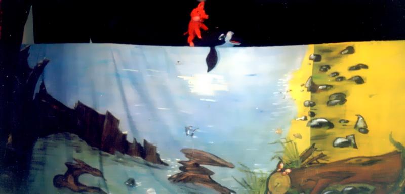 Спектакль «Мечта Наф-Нафа или Море для поросенка»