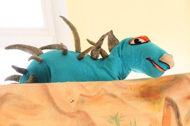 Спектакль «В гостях у динозавриков»